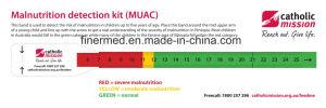 Children Kids Pediatric Arm Muac Measuring Tape pictures & photos
