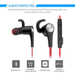 Bluetooth Headphones Magnetic Wireless V4.1 Earphones with Mic for iPhone7 iPhone 7 Plus pictures & photos