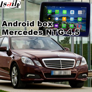 Android GPS Navigation Interface for Mercedes Benz C Cla Clk B a E Ml Glk Gla Ntg4.5 Update Touch Navigation Video Play WiFi Mirrorlink Google Map pictures & photos