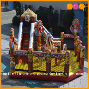 Factory Price High Quality Indian Funcity Infltable Indoor Playground for Sale (AQ01571) pictures & photos