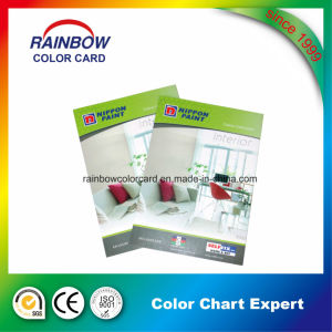 Promotional Building Material Wall Paint Color Card for Advertisement pictures & photos