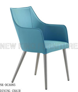 China Colored Stainless Steel Dining Chairs in Low Price (NK-DCA078) pictures & photos