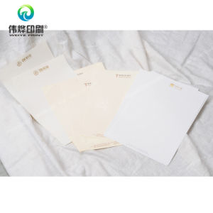 Hotel Offset Printing Letter Paper / Stationery pictures & photos