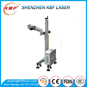 Hot Sale Electronic Components Fly Fiber Laser Marking Machine pictures & photos