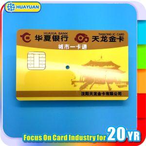 Custom PVC SLE5542 Vendor Machine payment Contact Card pictures & photos