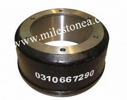 OEM No. 0310967290 BPW Truck Brake Drum pictures & photos