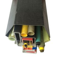 Solid High Strength FRP Flexible Channel Tube pictures & photos