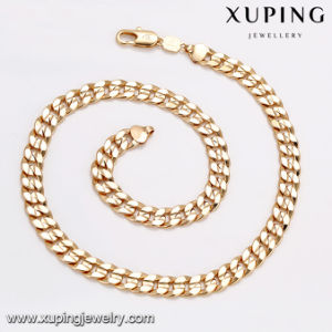 43660 Fashion Gold Plated Big Long Metal Alloy Jewelry Men Necklace Chain pictures & photos