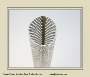 Ss409 54*1.0 mm Exhaust Repair Perforated Stainless Steel Tube pictures & photos
