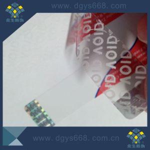 Void Tamper Evident Laser Label pictures & photos