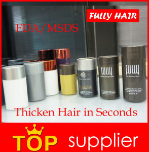Balding Cure Shampoo Fully Keratin Hair Building Fibers 23G pictures & photos