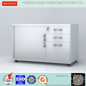 Hot Sale Mobile Caddy Filing Cabinet Tambour Door Laboratory Furniture pictures & photos