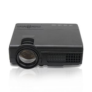 Video Projector 2000 Lumens Home Cinema Theater Multimedia Projector, Support 1080P HD + HD PC USB HDMI AV pictures & photos