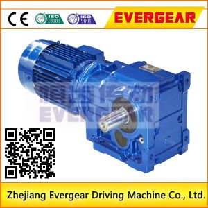 K Series Helical Bevel Gear Reducer with Torque Arm for Lift Machine pictures & photos