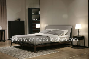 Italian Style Home Furniture Bedroom Double Bed (A-B44) pictures & photos