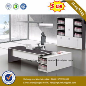 White Color Electric Wire Cord System Executive Office Table (HX-5DE528) pictures & photos