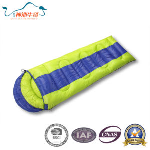 3 Season Outdoor Envelope Nylon Sleeping Bag for Camping