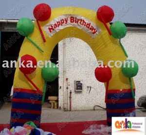 Mini Outdoor Indoor Advertising Inflatable Arch for Party pictures & photos
