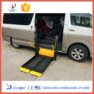 CE Electrical &Hydraulic Wheel Dual-Arm Chair Lift (WL-D-880S) pictures & photos