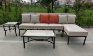 Half Round Wicker Hand Paint Style Sofa pictures & photos