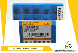 Kyocera Ccmt09t304 Gk Ca4515  Turning  Insert for Turning Tool Carbide Insert pictures & photos