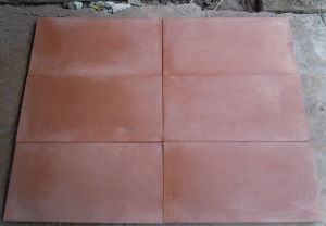 Hot Red Sandstone Stone Tile pictures & photos