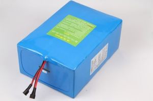 Customised Lithium Ion Battery 12V 24ah LiFePO4 Battery Pack for Solar LED Light Battery pictures & photos