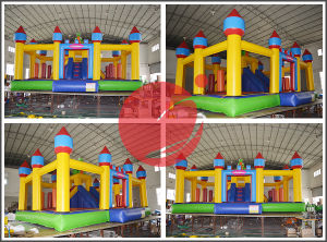 Inflatable Funcity for Outdoor Use (T6-037) pictures & photos