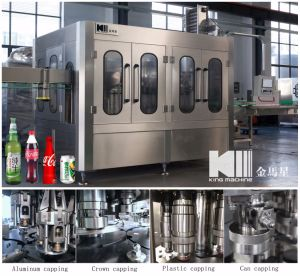 Best Choice Small Carbonated Drinking Bottling Line pictures & photos
