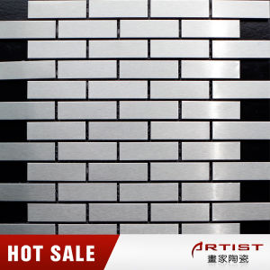 Classical Style Silver Color Stainless Steel Mosaic pictures & photos