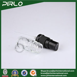 5ml Transparent Glass Essential Oil Use Black Spray Bottles Empty Cosmetic Liquid Packing Bottles pictures & photos