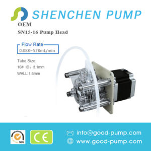 OEM Sn-15 Standard Type 0.088-528ml/Min Peristaltic Pump pictures & photos