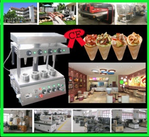 hot sale Cone pizza machine with CE certificate pictures & photos