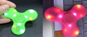 Fidget spinner Bluetooth speaker, mini LED Bluetooth speaker finger spinner pictures & photos