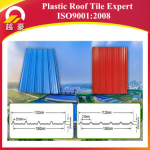 Yuehao 4 Layers Asapvc Anti-Aging Roof Tile pictures & photos