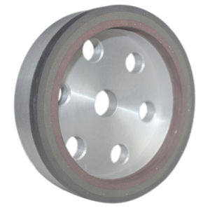 Three-Band Resin Wheel (aluminum body) ---Processing Glass