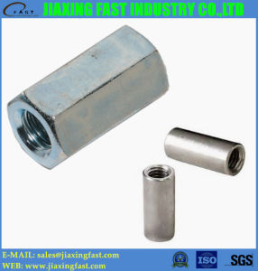 DIN6334 Hex Coupling Nuts/ Round Coupling Nut pictures & photos