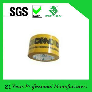 Printed Tape with Company Logo BOPP Packing Adhesive Tape pictures & photos