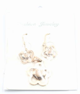 Fashion Stainless Steel Earrings & Pendant for Gift Jewelry pictures & photos