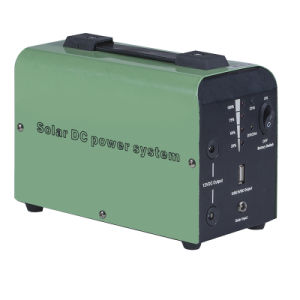 30W Solar System Home with 24ah Battery and Controller Solar Lighting System pictures & photos