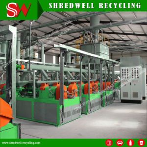 Enviromentally Responsible Tire Recycling Line Producing Powder/with Energy Savings Benefit pictures & photos