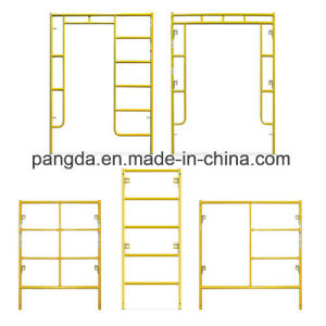 China SGS High Effeciency Movable Frame Scaffold with Multi-Usage pictures & photos