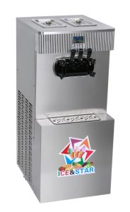Ultra-Quiet Energy-Saving Soft Serve Ice Cream Machines Ice&Star