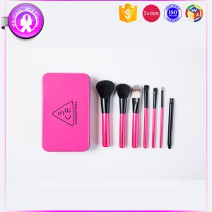 Professional 7PCS Pink Cosmetics Makeup Brush Manufacterurer pictures & photos