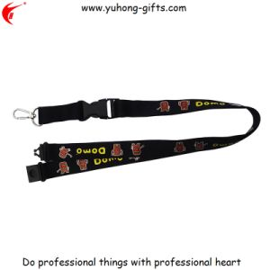 Exhibition Two Head Lanyard and PVC Card Holder (YH-L1254) pictures & photos