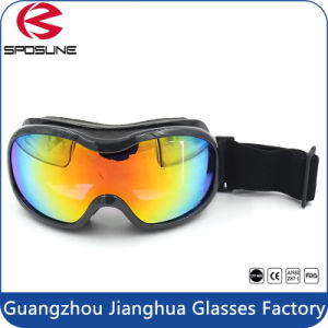 Detachable Wide Angle Anti Fog Snowboard Ski Goggles with Double Panoramic Lens pictures & photos