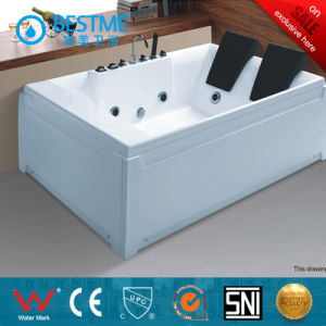 Simple Rectangle Massage Bathtub for Sales (BT-A317) pictures & photos