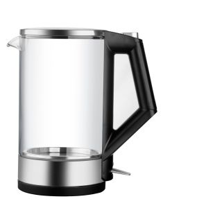Electric Glass Kettle 360 Degree Cordless Stainless Steel Decorate with LED Light pictures & photos
