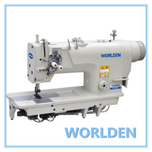 Wd-8420d Direct Drive High Speed Double Needle Lockstitch Sewing Machine pictures & photos