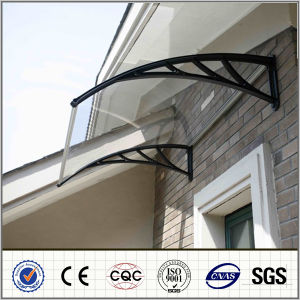 Clear Sheet Ad Blacke Bracket Polycarbonate Solid Sheet Awning